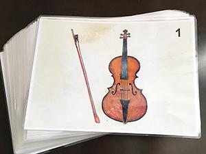 楽譜カード